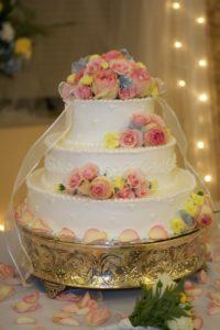 the wedding cake by Emmaline