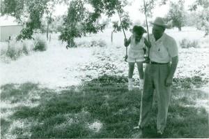 Grandpa swinging me - medium
