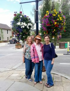 Debbie's pic of us downtown
